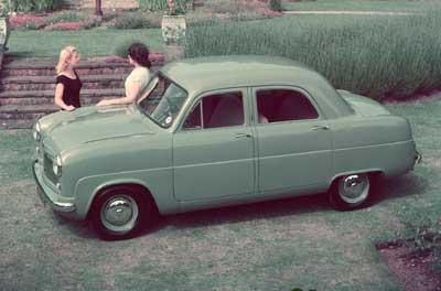 1950 год. Ford Consul