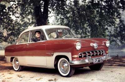 1956 год, Ford Taunus 15M