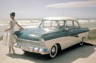 1957 год. Ford Taunus 17M