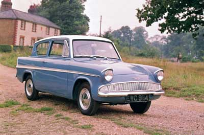 1959 год. Ford Anglia