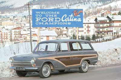 1962 год. Ford Cortina Mk1