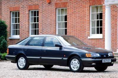 1985 год. Ford Scorpio