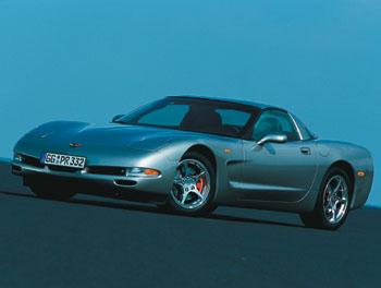 Женева 2003 // Chevrolet Corvette