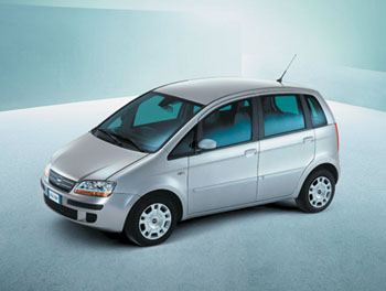 Женева 2003 // Fiat Idea
