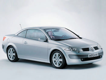 Женева 2003 // Renault Megane Coupe-Cabriolet