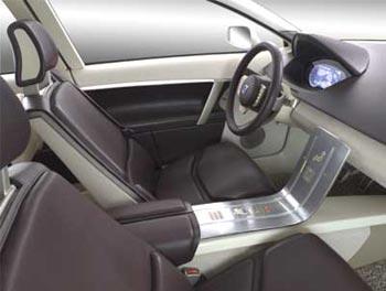 Женева 2003 // Volvo VCC (кокпит)