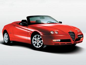 Женева 2003 // Alfa Romeo Spider