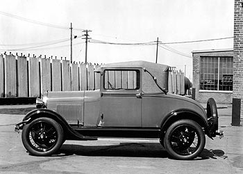 Ford Model A, 1928 год