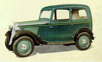 Datsun sedan, 1935 г.