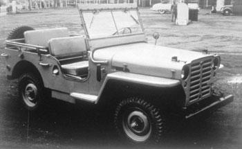 Nissan Patrol 4W60, 1951 г.