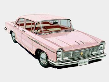 Nissan Cedric model 30, 1960 г.