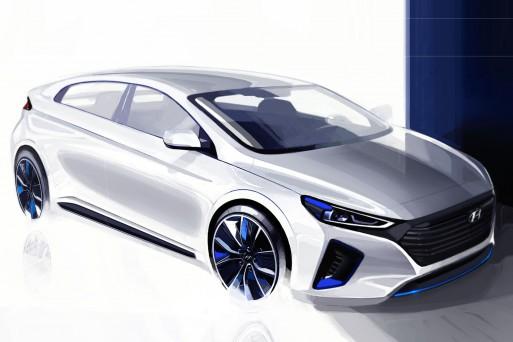 Новая модель Hyundai показалась на очередных эскизах
