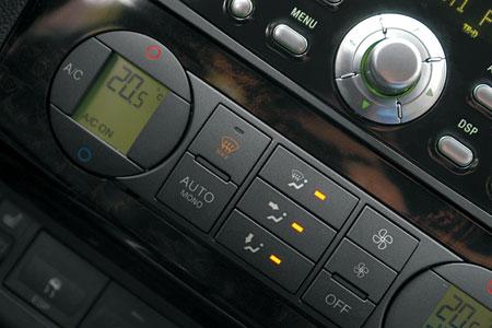 """Двухзонный климат-контроль  – опция для Ghia. В """"базе"""" – кондиционер"""