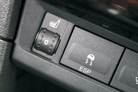 ESP и подогрев сидений – слагаемые морального и физического комфорта