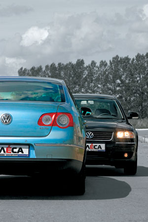 Volkswagen Passat B5 GP vs B6