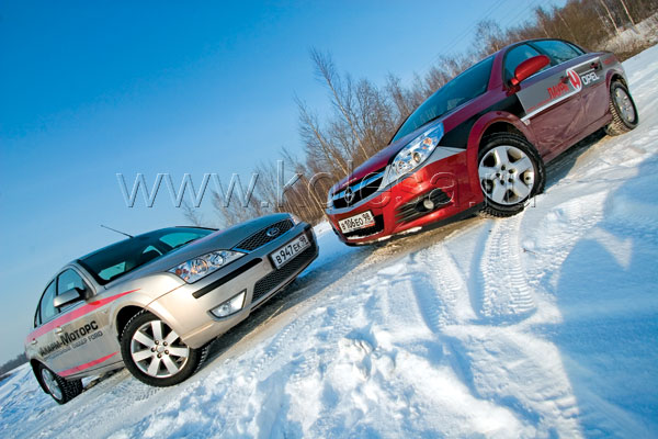 Ford Mondeo vs. Opel Vectra