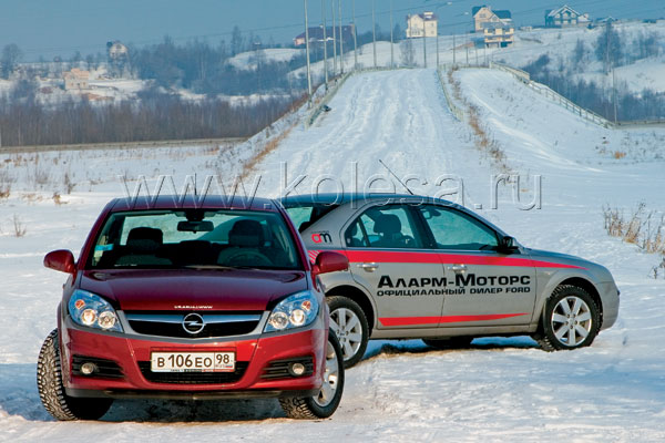 Opel Vectra vs. Ford Mondeo