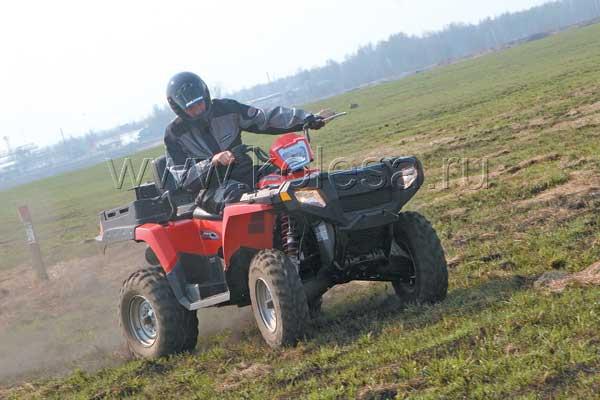 Polaris Sportsman X2 500 EFI