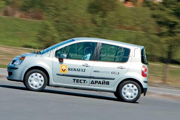 """Подвеска более энергоемкая в Renault: штурм искусственных дорожных неровностей показал полное превосходство """"француза""""."""