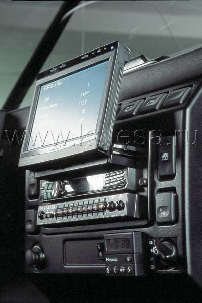 Выдвигающийся экран в авто
