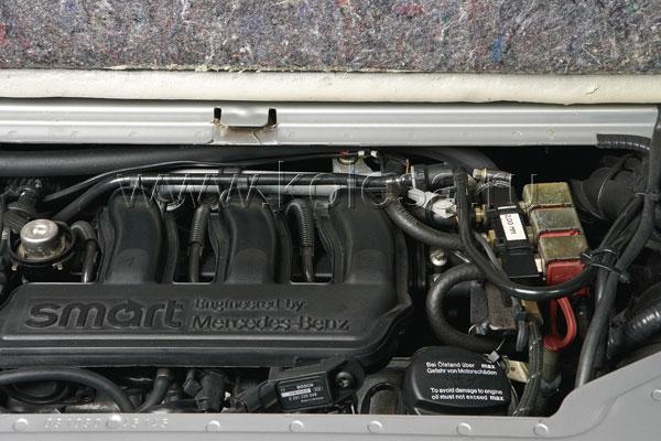 Основными частями системы являются баллон, редуктор-испаритель и смеситель «газ-воздух»