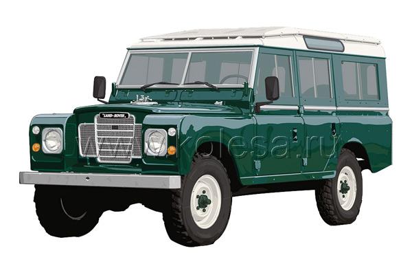 Santana PS-10 построен на базе  Land Rover Defender 109