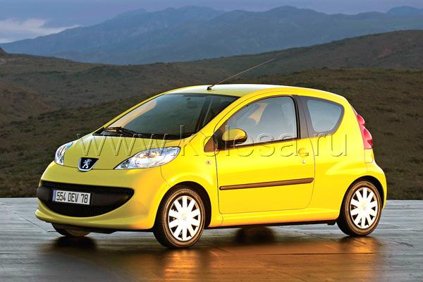 Peugeot является безусловным лидером  по поставкам в Россию небольших авто
