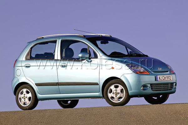 Chevrolet Spark – (0.8 л, 51 л. с.) 5.2 л