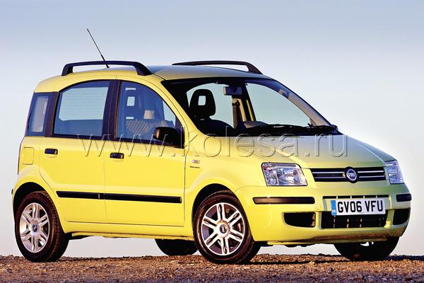 Fiat Panda (1.2 л, 60 л. с.)– 5.6 л