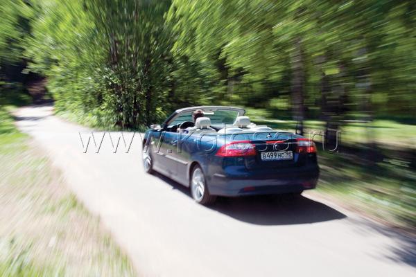 Saab 9-3 Convertible  Vector Viggen