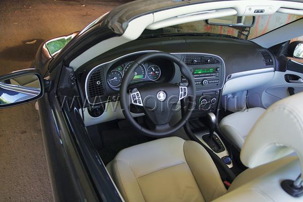 Один из основных принципов  Saab – «салон строится  вокруг сиденья водителя»