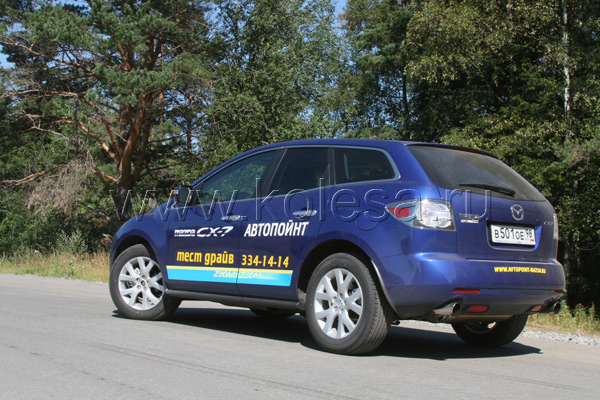 Тест-драйв Mazda CX-7: Не просто кроссовер