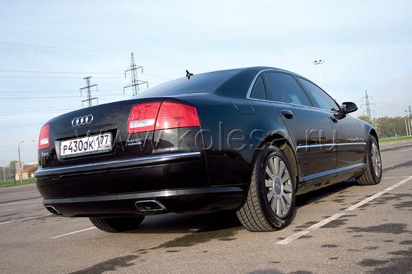 Audi A8 Security защищен по классу B6/B7 – это наивысшая степень бронирования по нормам Евросоюза