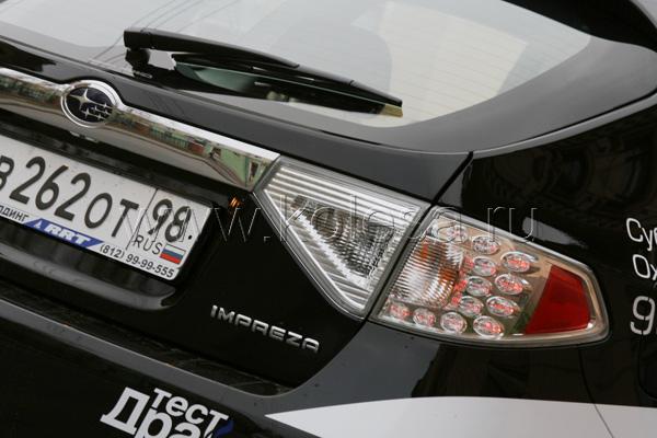 В стиле Impreza «всплывают» далеко не худшие образцы дизайна вроде BMW 1-серии или Mazda3