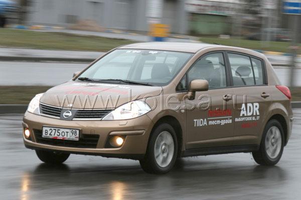 Nissan Tiida 1.6 л, 110 л.с., АКПП
