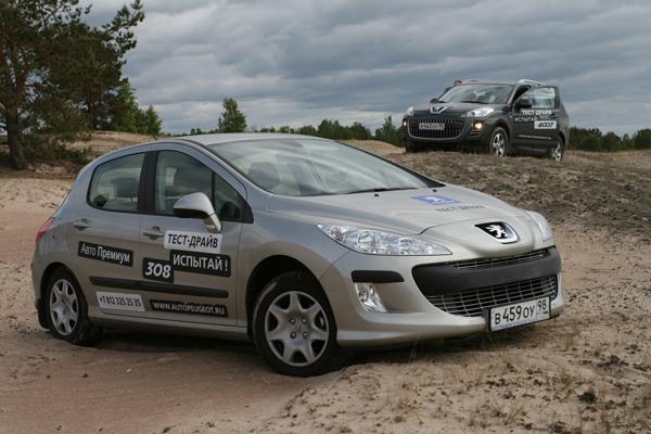 Peugeot – 308 и 4007