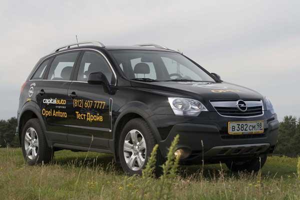 Opel Antara 2.4 МКПП