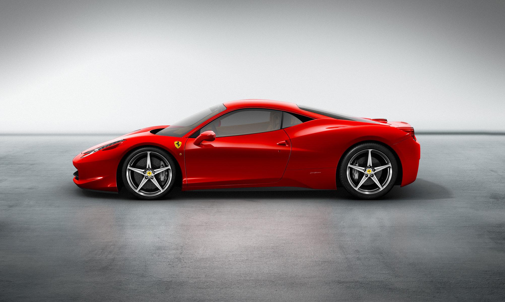 Ferrari F458 Italia: Ferrari имени Шумахера