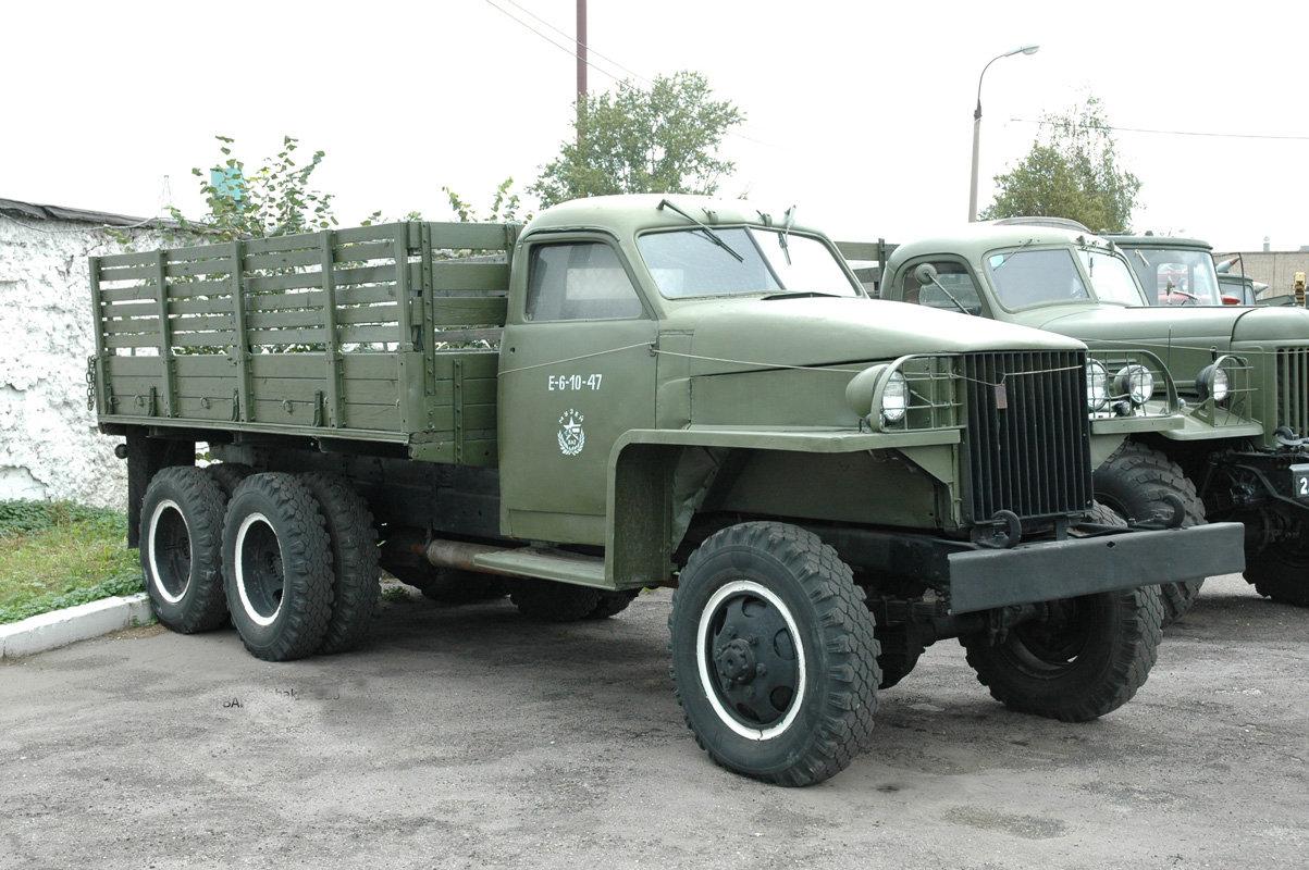 военные автомобили ссср фото