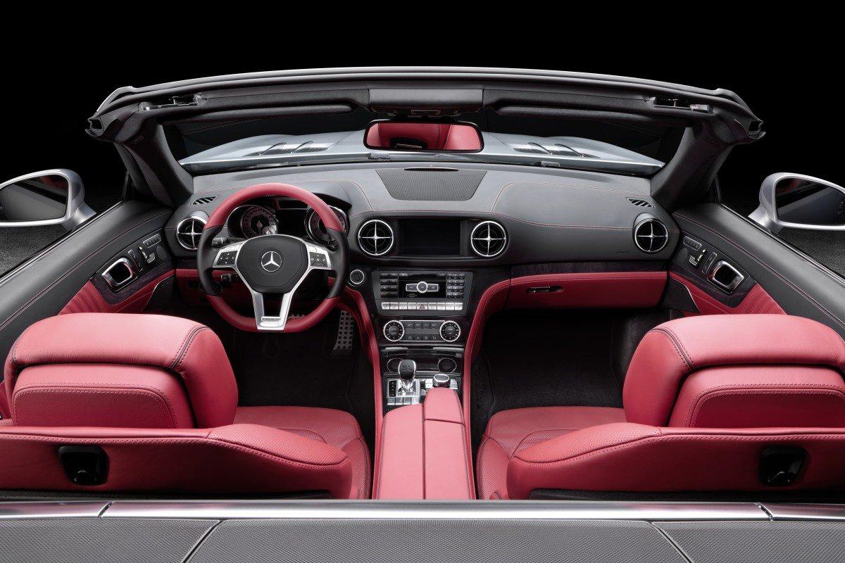 Mercedes-Benz SL: интерьер