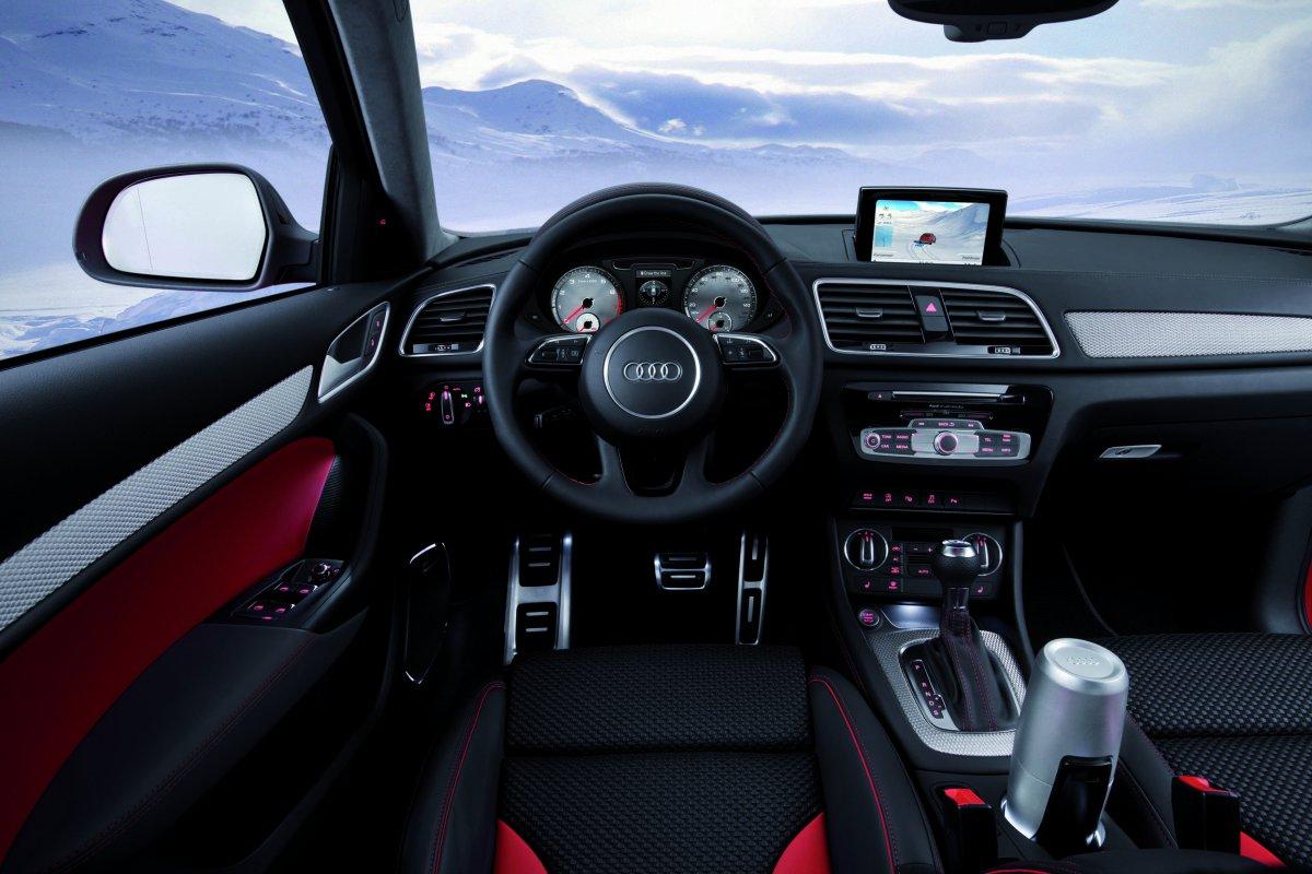 Audi Q3 Vail: интерьер