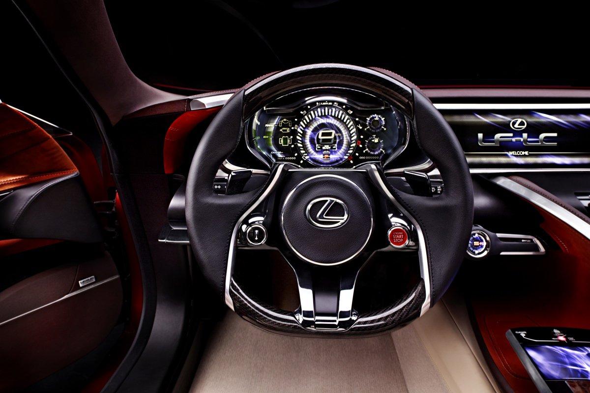 Lexus LF-LC: интерьер