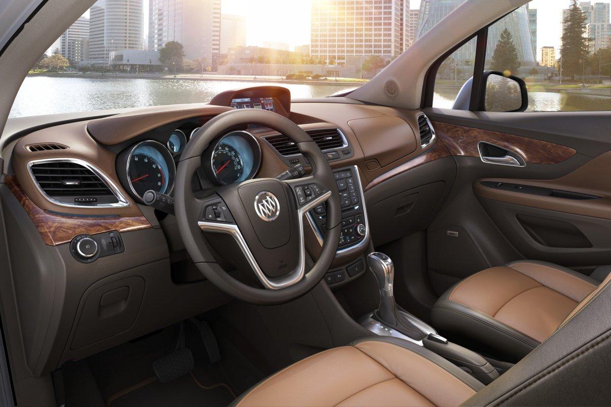Buick Encore: интерьер