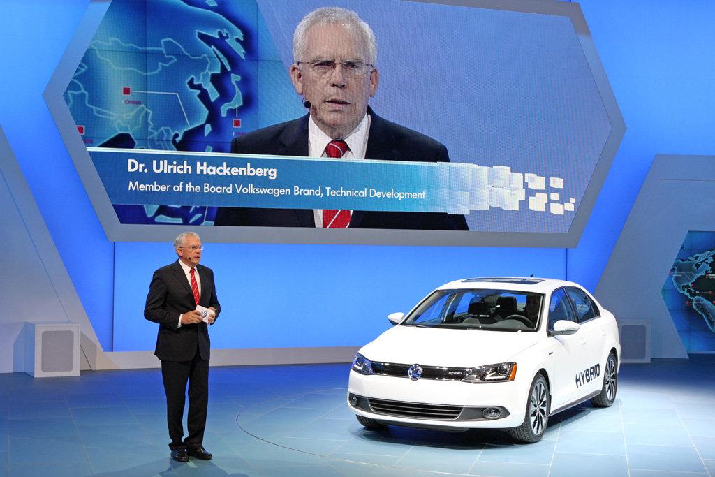 Volkswagen Jetta Hybrid: презентация