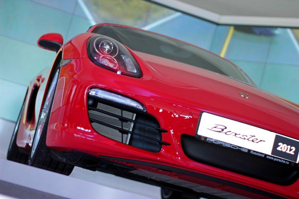 Новый Porsche Boxster 2012 фото