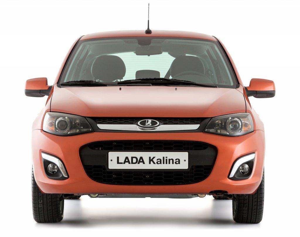Новая Lada Kalina фото