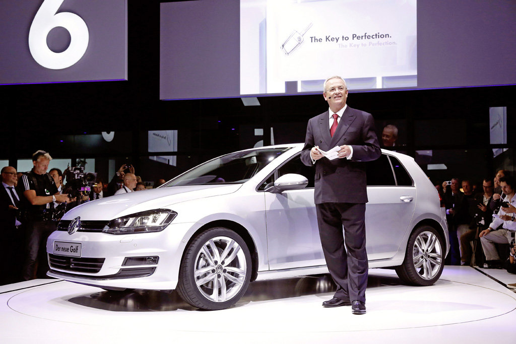 Презентация нового Volkswagen Golf в Берлине