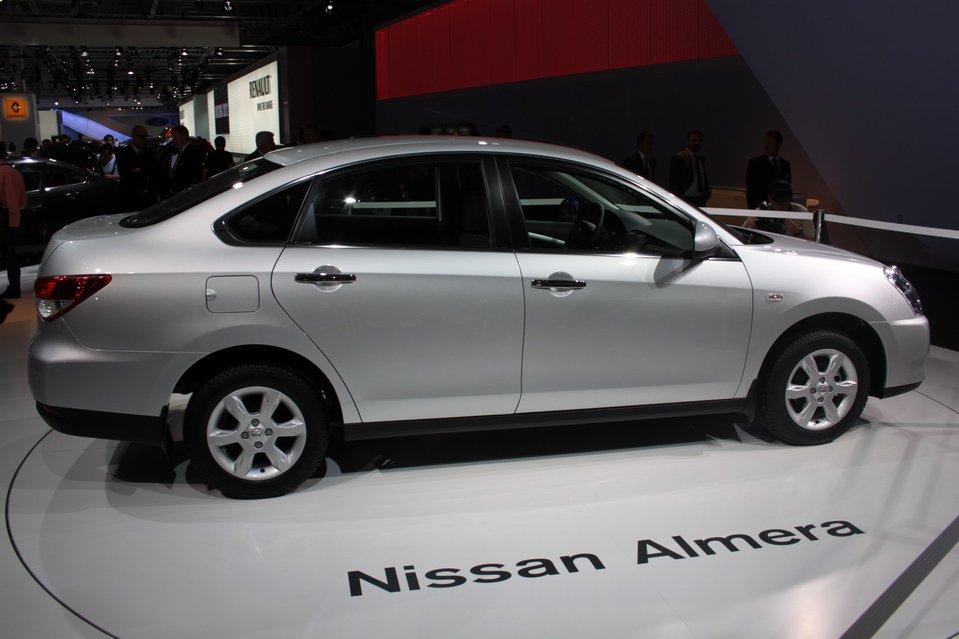 Nissan Almera 2012