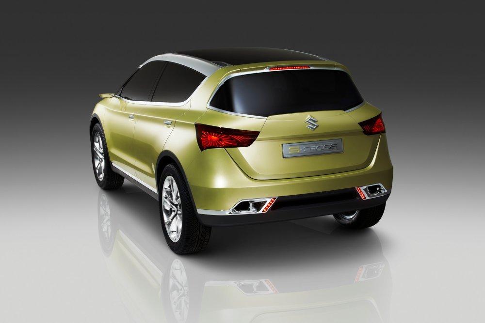 новый Suzuki S Cross концепт