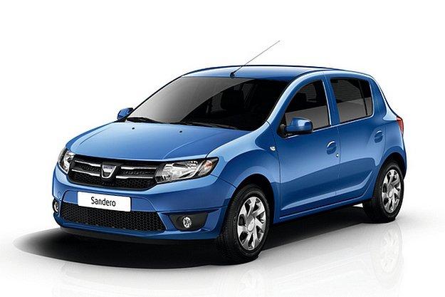 новый Dacia Renault Sandero